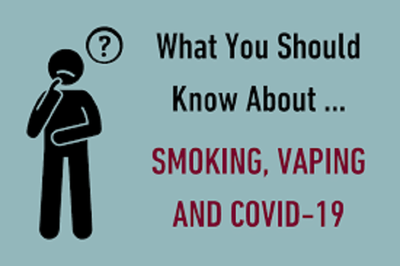 Has Got The Anxiety About The Coronavirus Encouraged More And More People To Stop Smoking And Vaping